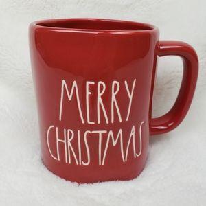 New Rae Dunn Merry Christmas LL Red Mug!